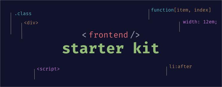 Frontend Starter Kit